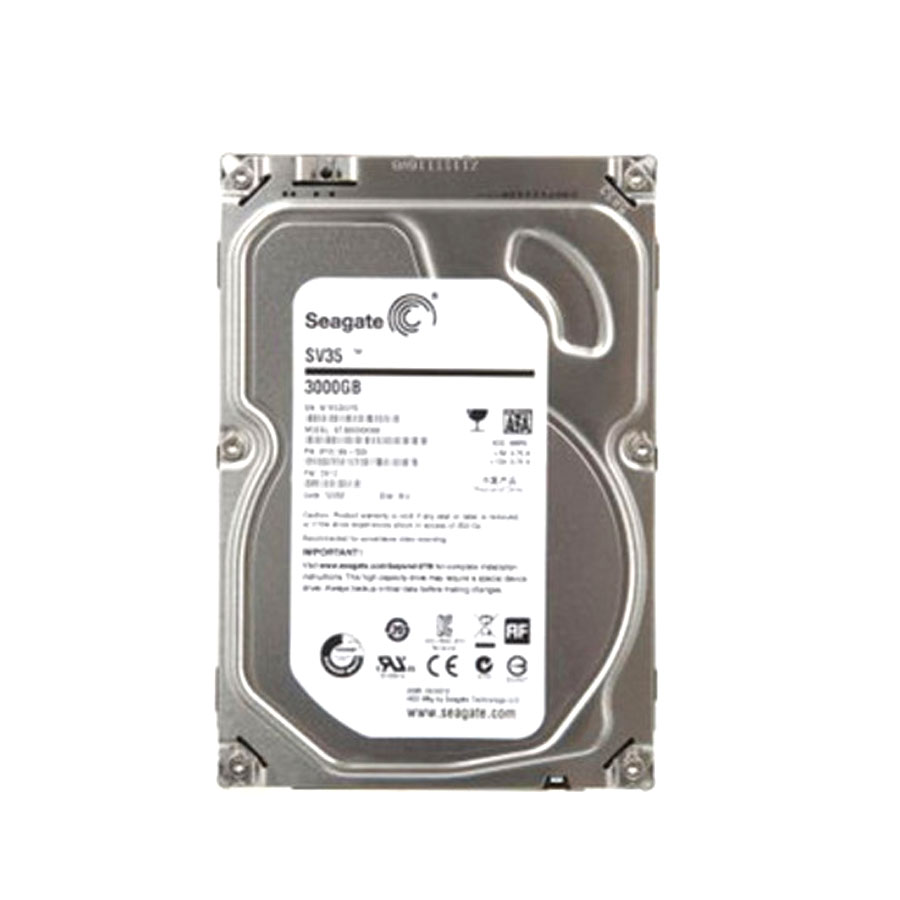 Seagate ST3000VX000 - SV35 3TB SATA - 3.5IN 7200RPM 64MB SURVEILLANCE IN